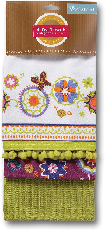 Suzani Retro Tea Towels