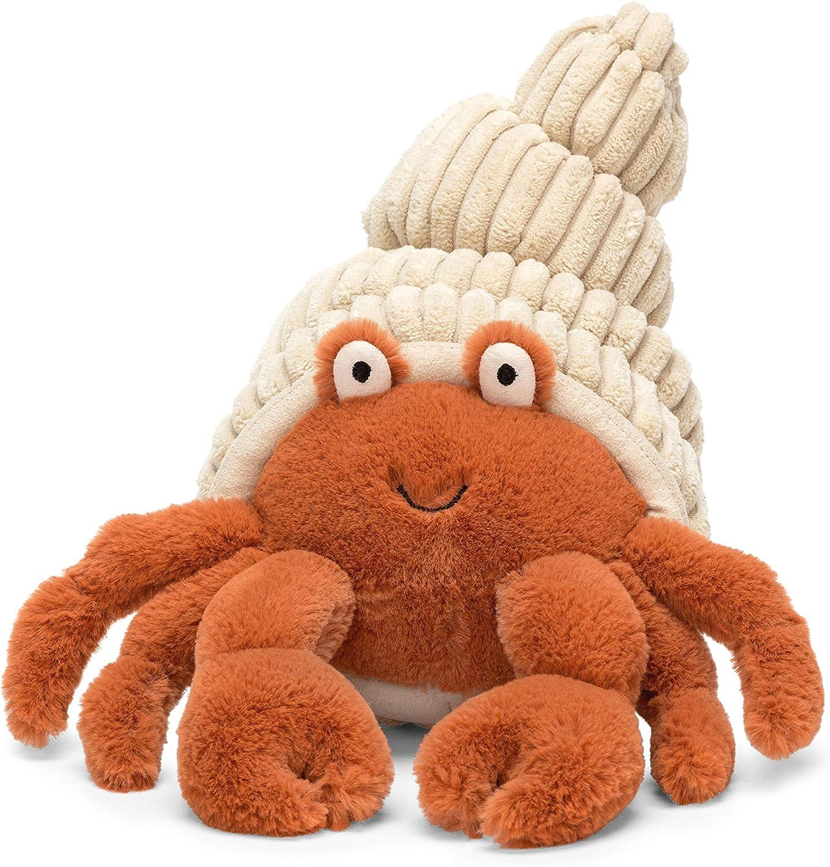 Jellycat Herman Hermit Crab Stuffed Animal, 14 inches