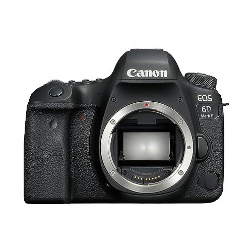 Canon EOS 6D Mark II Digital SLR Camera - Black
