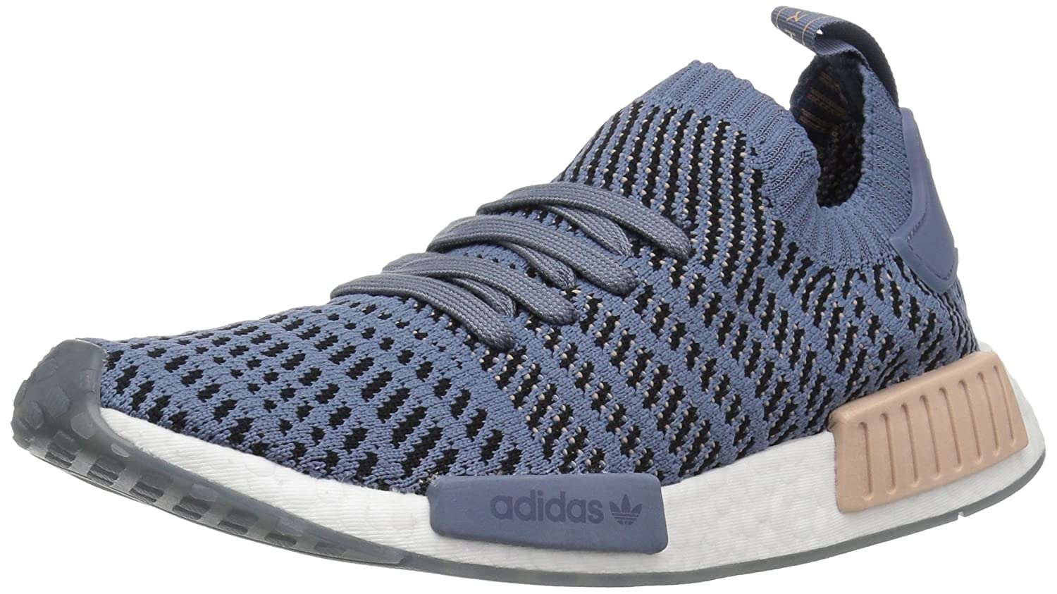 adidas Originals Women's NMD_r1 Stlt Pk B079Y8K8NS 9.5 B(M) US|Raw Steel/Ash Pearl/White