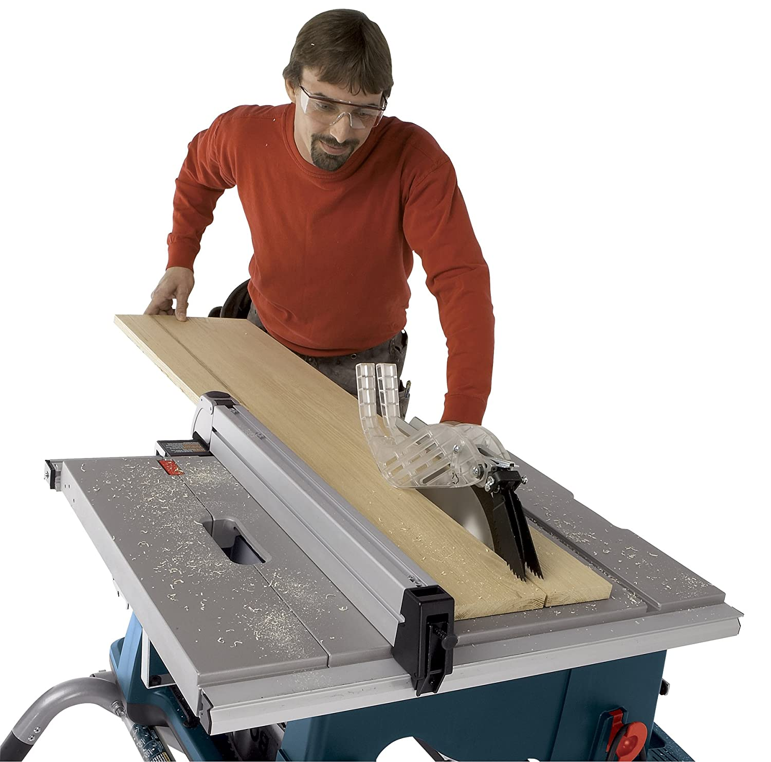 Bosch 10-Inch Worksite Table Saw 4100-09 with Gravity-Rise Wheeled ...
