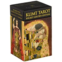 Klimt Tarot Golden Pocket Edition: Tarot Deck, 78 full colour cards and instruction booklet