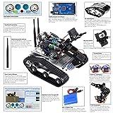 Kuman Wireless Wifi manipulator Robot Car Kit for