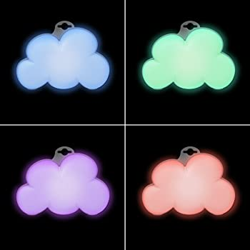 Baby Cloud Portable Sound Machine & Colour Changing Night Light
