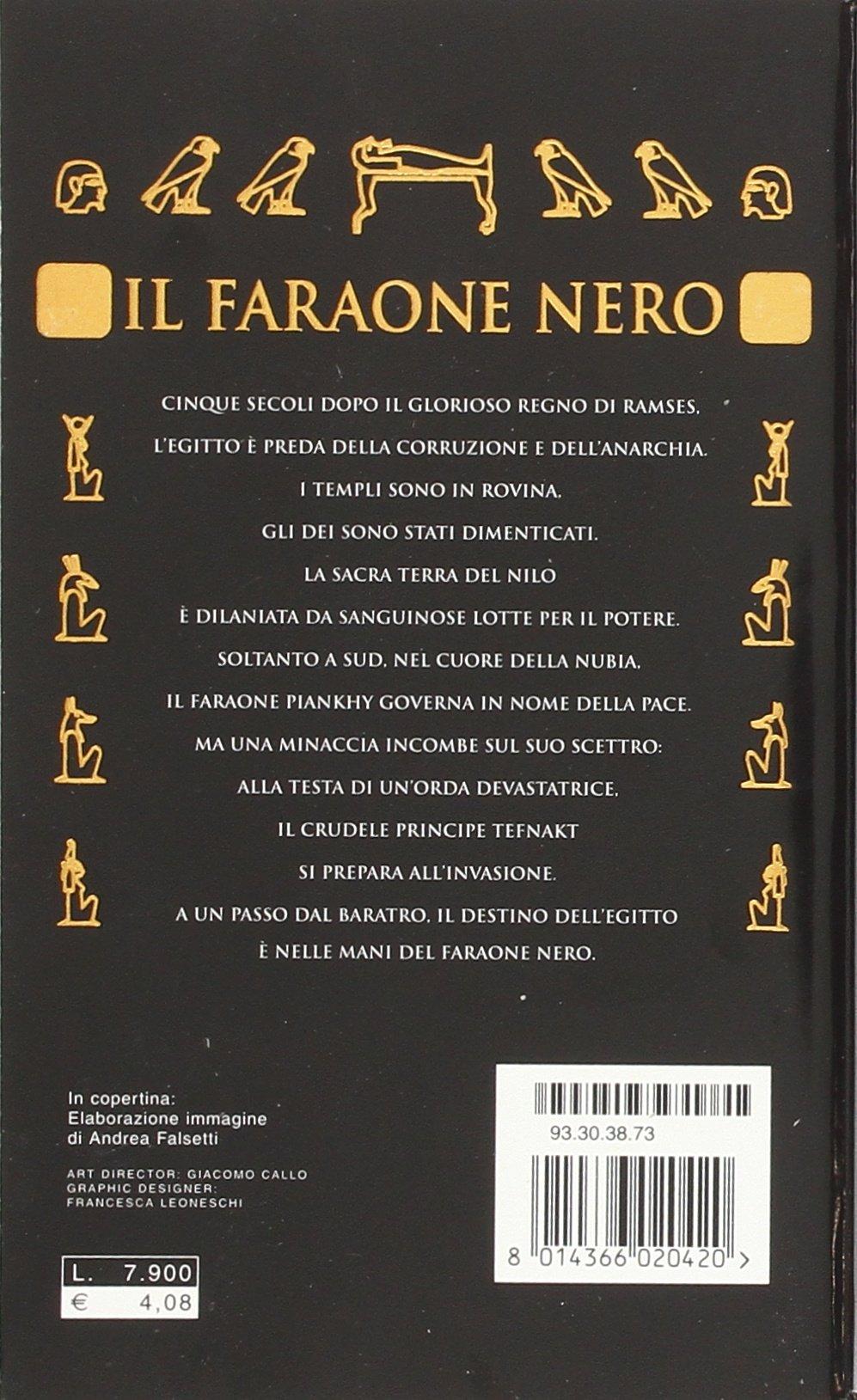 Il Faraone Nero 9788804478676 Amazon Com Books