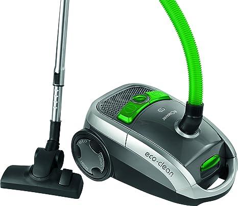 Bomann BS 9010 CB Aspiradora de trineo con bolsa, eficiencia energética A, 800 W, 75 Decibelios, Plástico, Gris y verde: Bomann: Amazon.es: Hogar