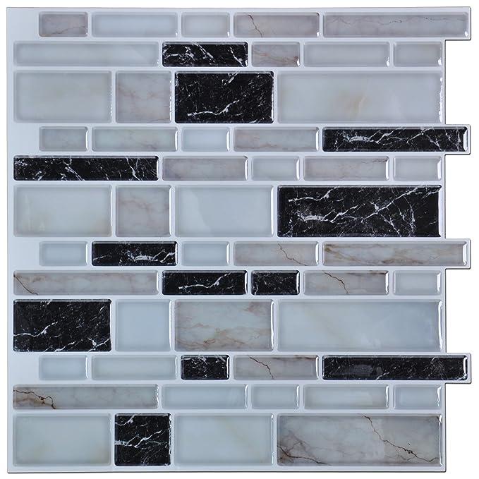 Art3d Peel And Stick Kitchen Or Bathroom Backsplash Tile Wall