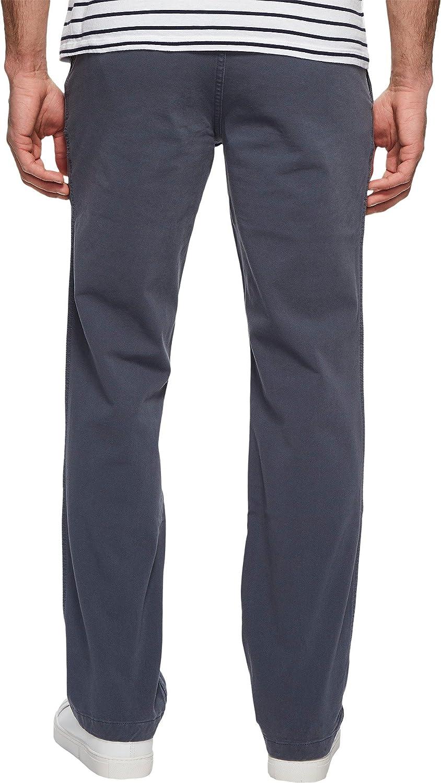 Dockers Mens Straight Fit Downtime Khaki Smart 360 Flex Pants D2 Casual Pants Strip Helena Blue (Stretch)