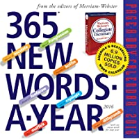 365 New Words-A-Year Page-A-Day Calendar 2016