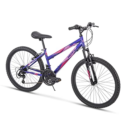 Trail Mountain Bikes >> Amazon Com Huffy Hardtail Mountain Bike Summit Ridge 24 26 Inch