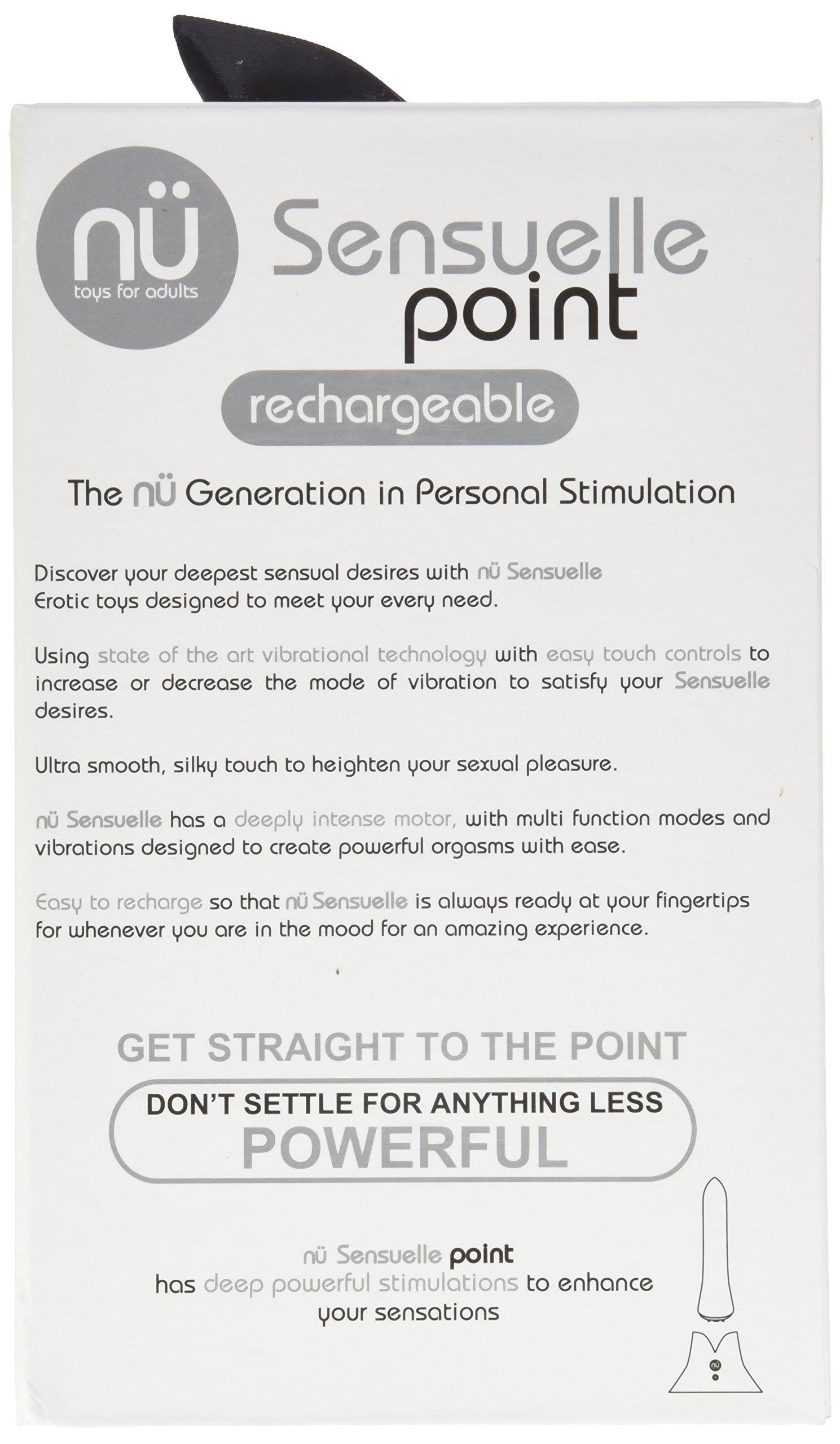 Sensuelle Point Rechargeable 20 Function Bullet, Purple by Sensuelle