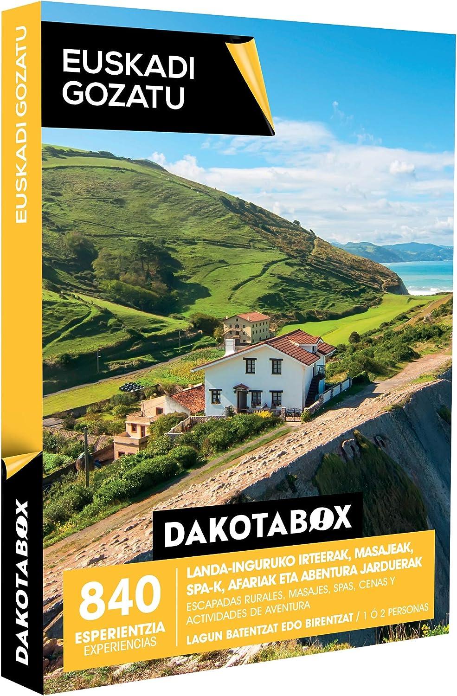 Smartbox DAKOTABOX - Caja Regalo - EUSKADI GOZATU - 840 ...