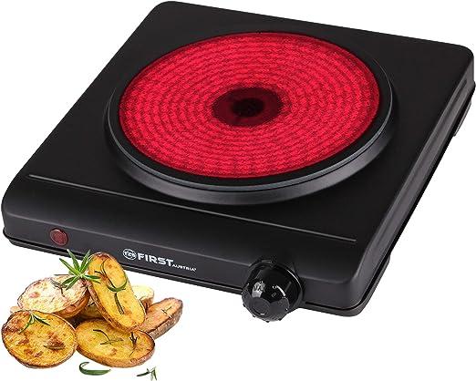 Plaque de cuisson cuisson 1500 W plaque de cuisson réchaud camping Plaque Chauffante Portable 185 mm