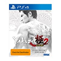 Yakuza Kiwami 2 Steelbook  (PlayStation 4)