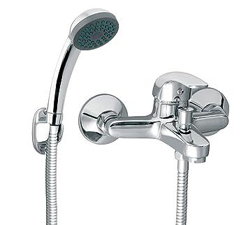 Armatur für die Badewanne Wannenarmatur mit Handbrause und ... | {Armaturen badewanne 52}