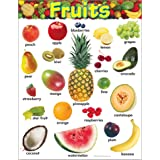 Trend Enterprises Fruits Learning Chart (T-38247)