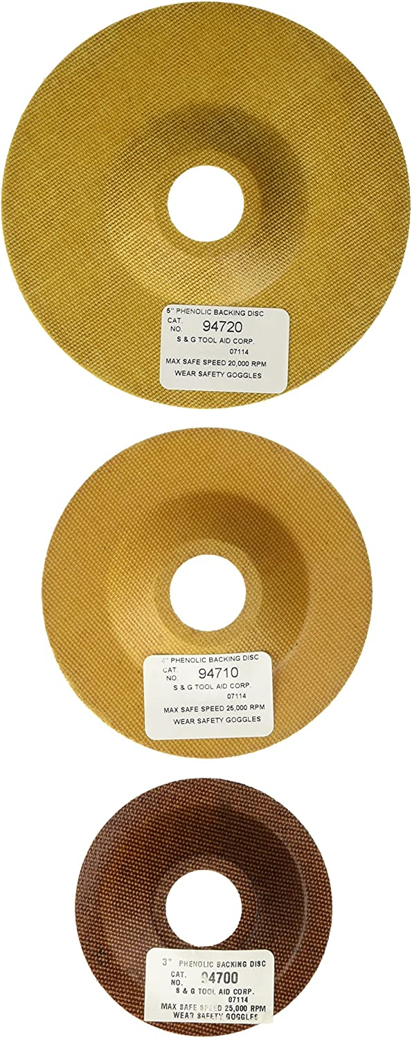 Backing Disc Combination Pack Tool Aid S/&G 94750