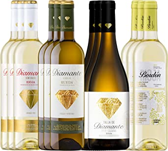 Pack Vinos Blancos Afrutados D.O.Ca Rioja (12 Botellas) - 3 ...