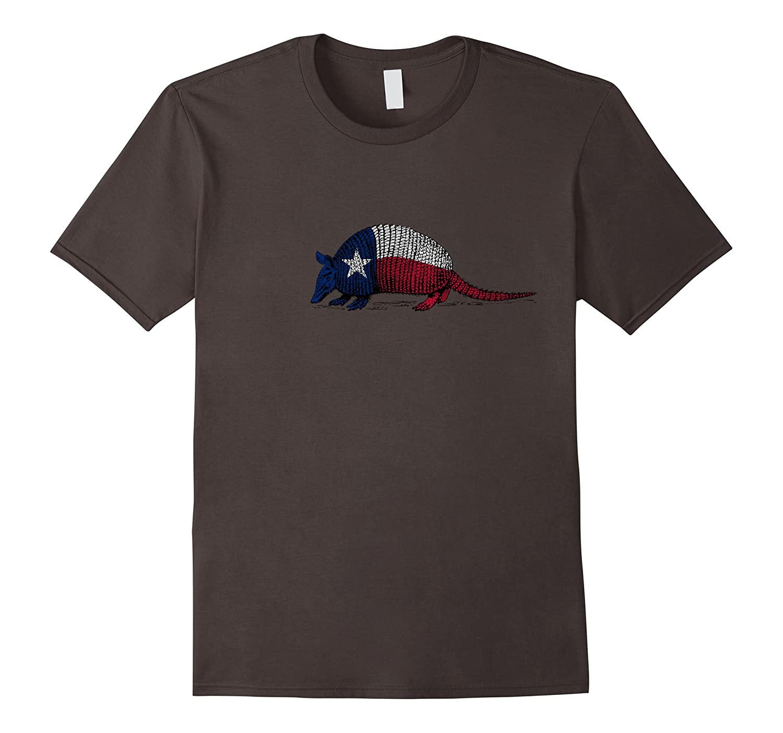 Armadillo Texas Flag T Shirt-FL