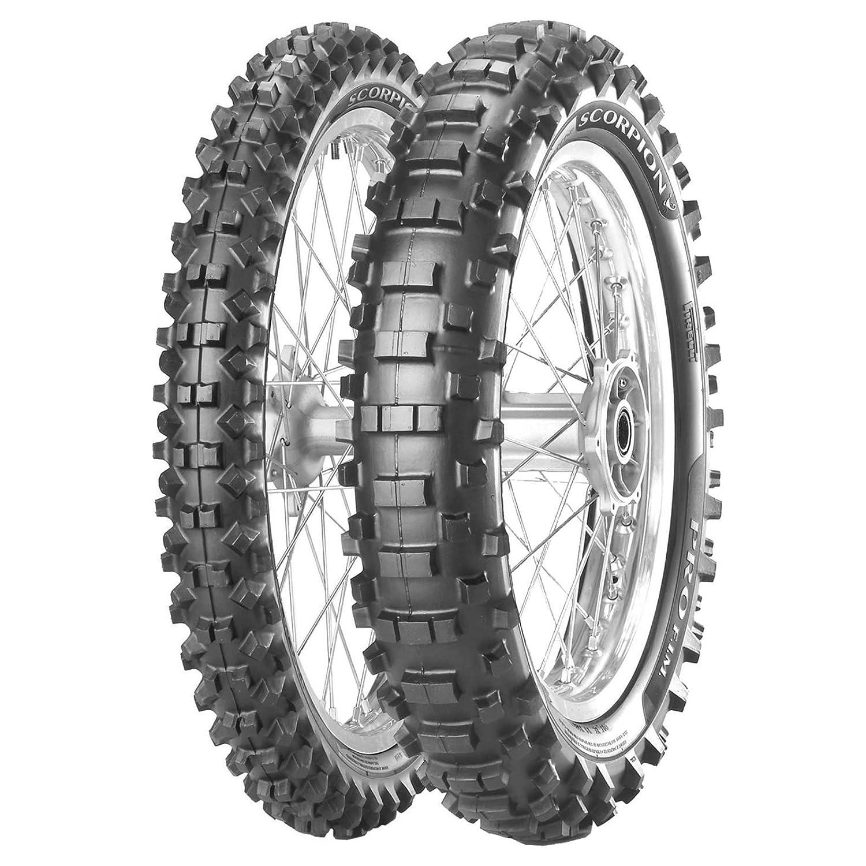 Coppia gomme pneumatici Pirelli Scorpion PRO FIM 90//90-21 54M 120//90-18 65M