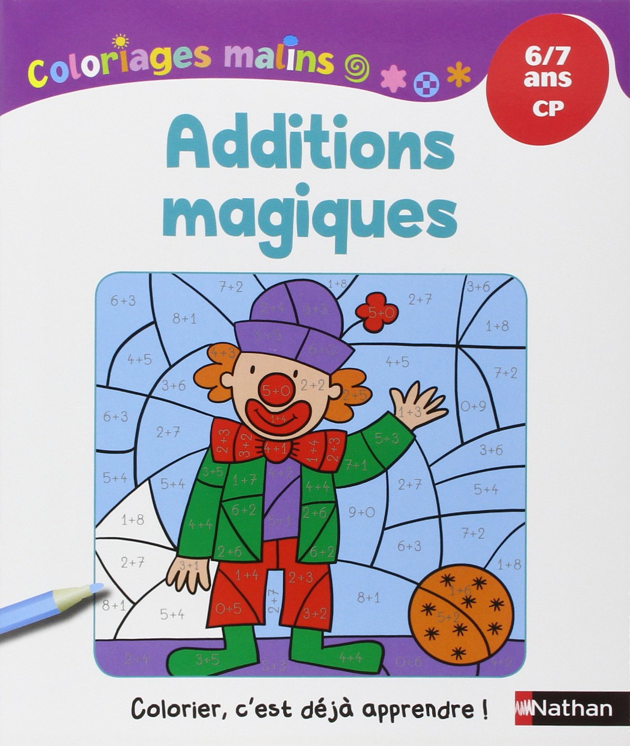 amazon fr coloriages malins additions magiques cp isabelle