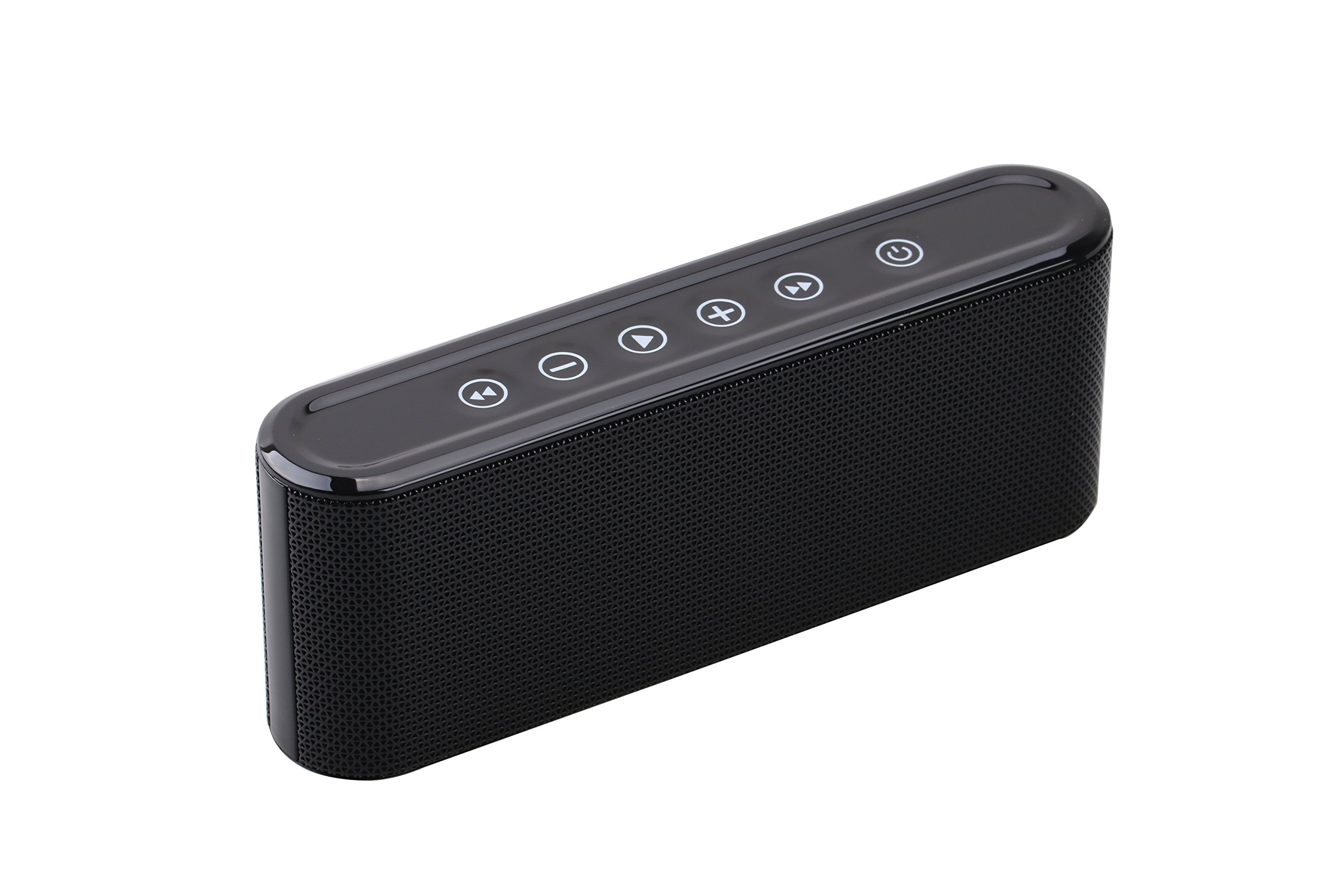 Bluetooth Speakers, 6W Touch Metal Speakers, Mini Portable Bluetooth 4.2 Wireless with Super Bass, Treble Stereo Subwoofer, Support TF Card, USB Disk, 3.5mm AUX Input,Mobile Computer Accessories