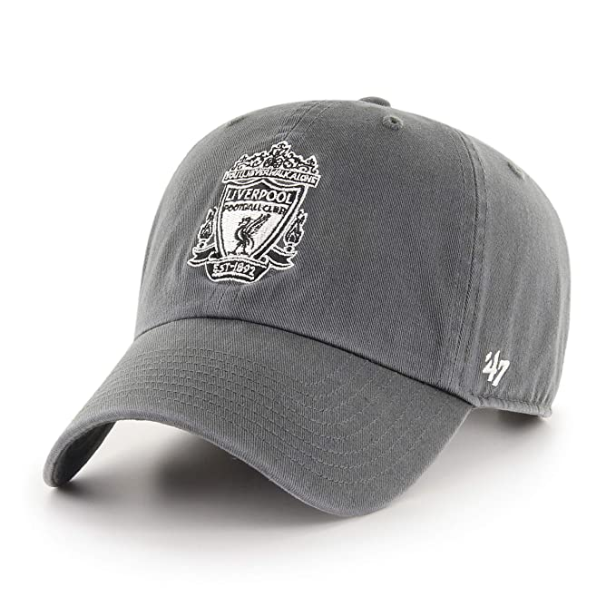 0cf021ca6b7 47 Brand EPL Liverpool FC Clean Up Cap - Charcoal  Amazon.ca  Clothing    Accessories