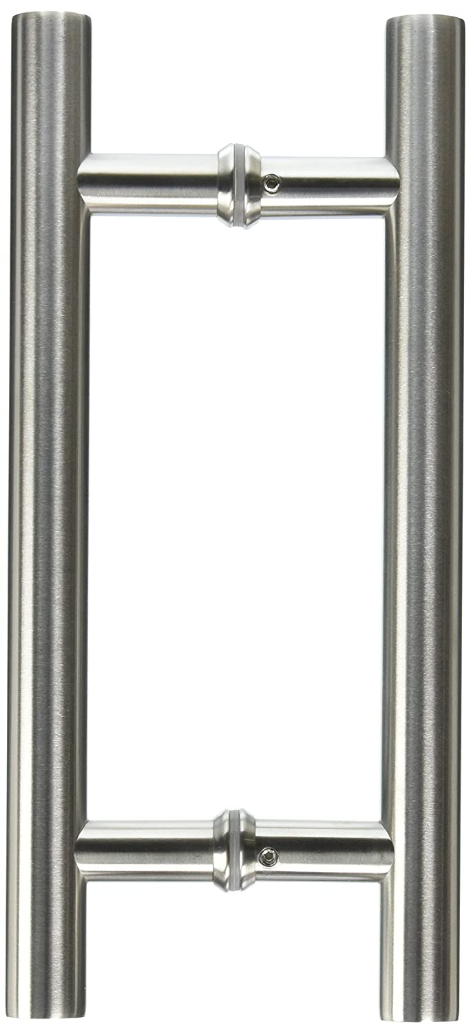 """Promotion! VRSS 304 Stainless Steel Commercial H-Shape/Ladder Style Back to Back Push Pull Door Handle 3 Years Replacement Warranty (12"""" Length/1"""" Diamter)"""