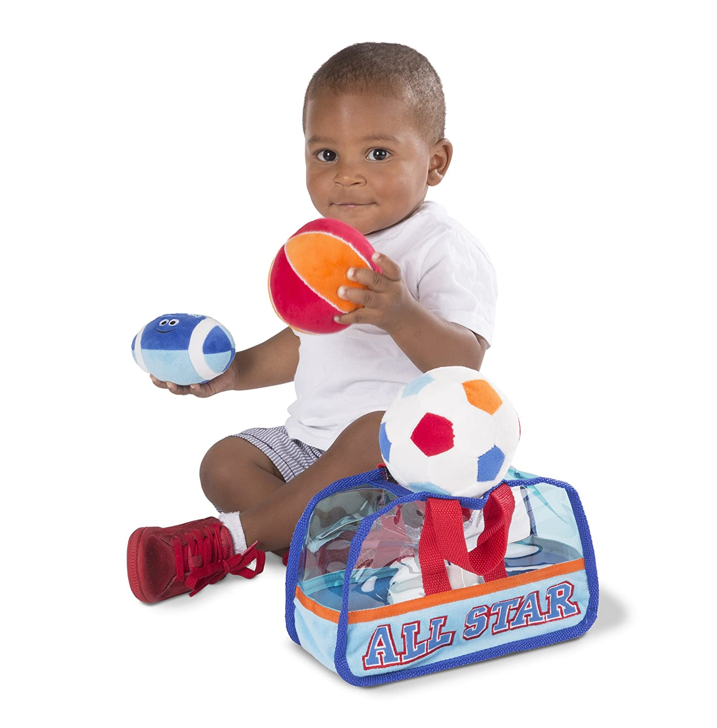 Amazon Melissa & Doug Sports Bag Fill and Spill Baby and