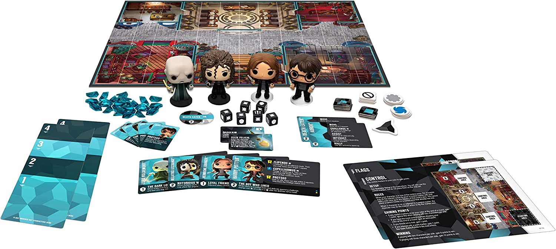 Amazon Com Funko Pop Funkoverse Strategy Game Harry Potter 100 Base Set Toys Games