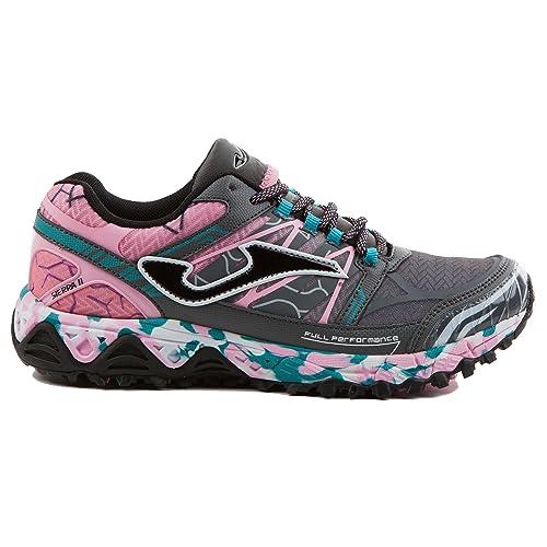 5a6af72739 Zapatillas Joma Sierra II para Mujer 712 Gris (41)  Amazon.es ...