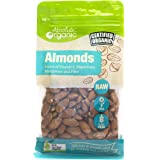 Absolute Organic Raw Almonds, 250g