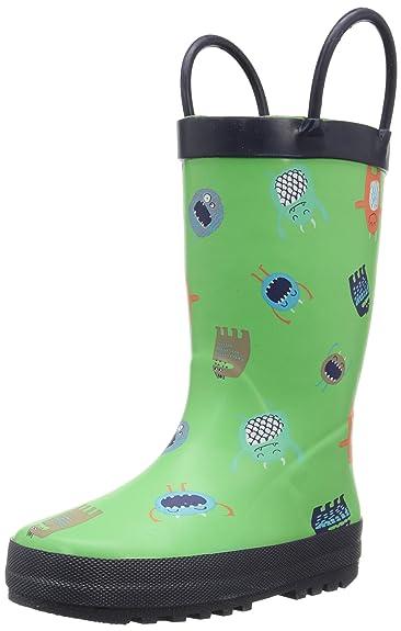 Amazon.com | carter's Monstro Rain Boot (Toddler/Little Kid), Navy ...