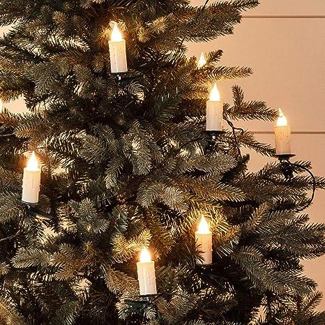 Indoor string lighting Kitchen Image Unavailable Urolclub Amazoncom Lights4fun Inc 30 Warm White Led Jumbo Flameless