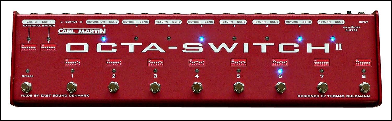 Carl Martin Octa-Switch MK II B0057LA9JO