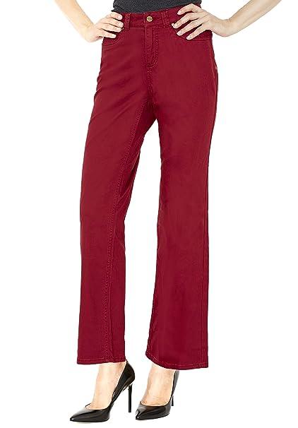 Amazon.com: Croft & Barrow - Pantalones de mujer de pierna ...