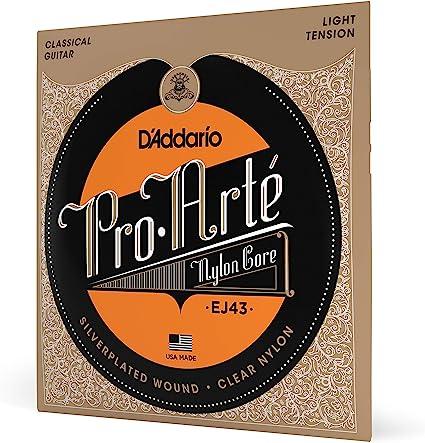 DAddario EJ43 Juego de Cuerdas, Transparente: Amazon.es ...