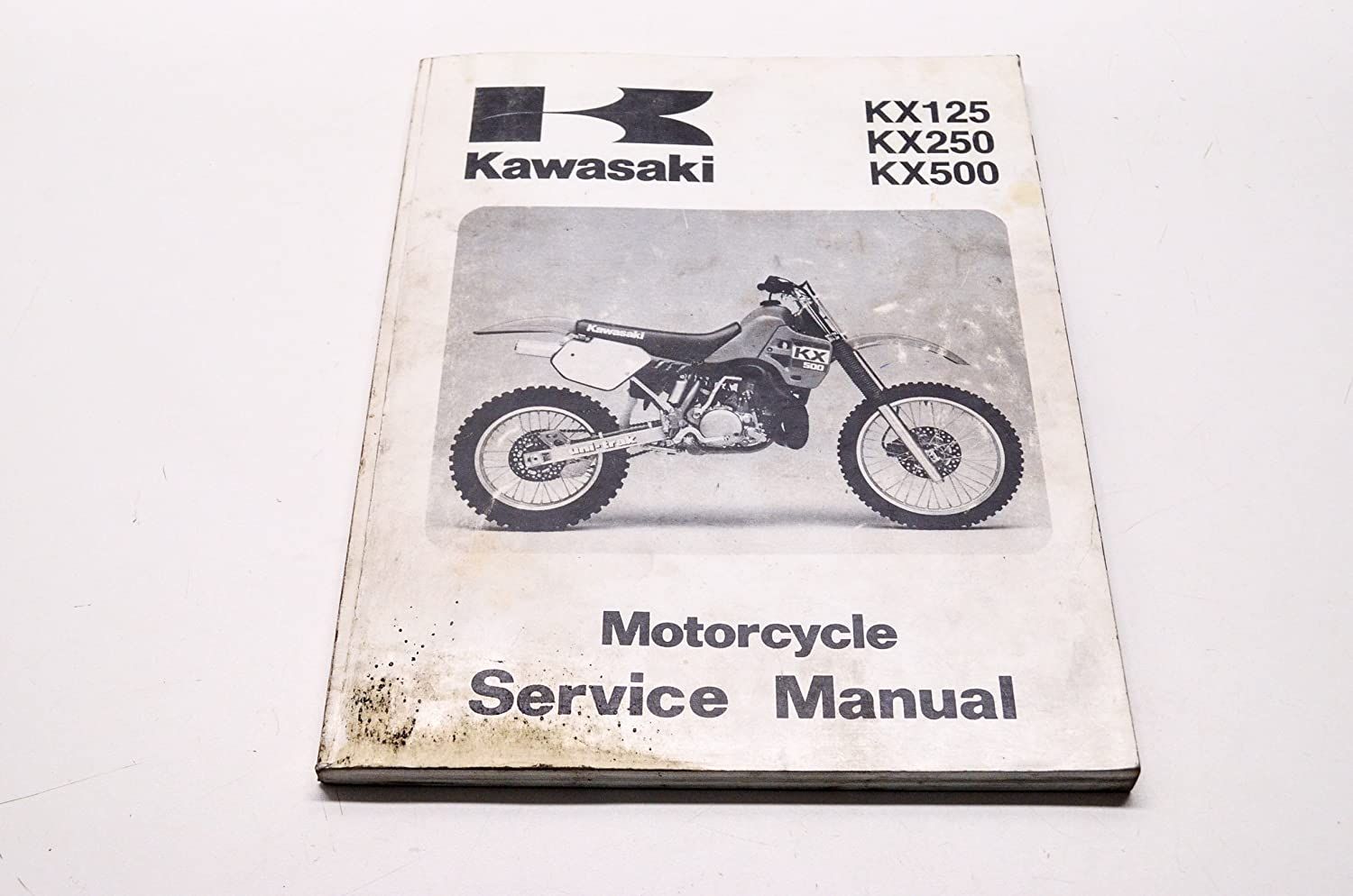 Amazon.com: Kawasaki 99924-1101-01 KX125 KX250 KX500 Service Manual 88 KX125/250/500.  QTY 1: Automotive