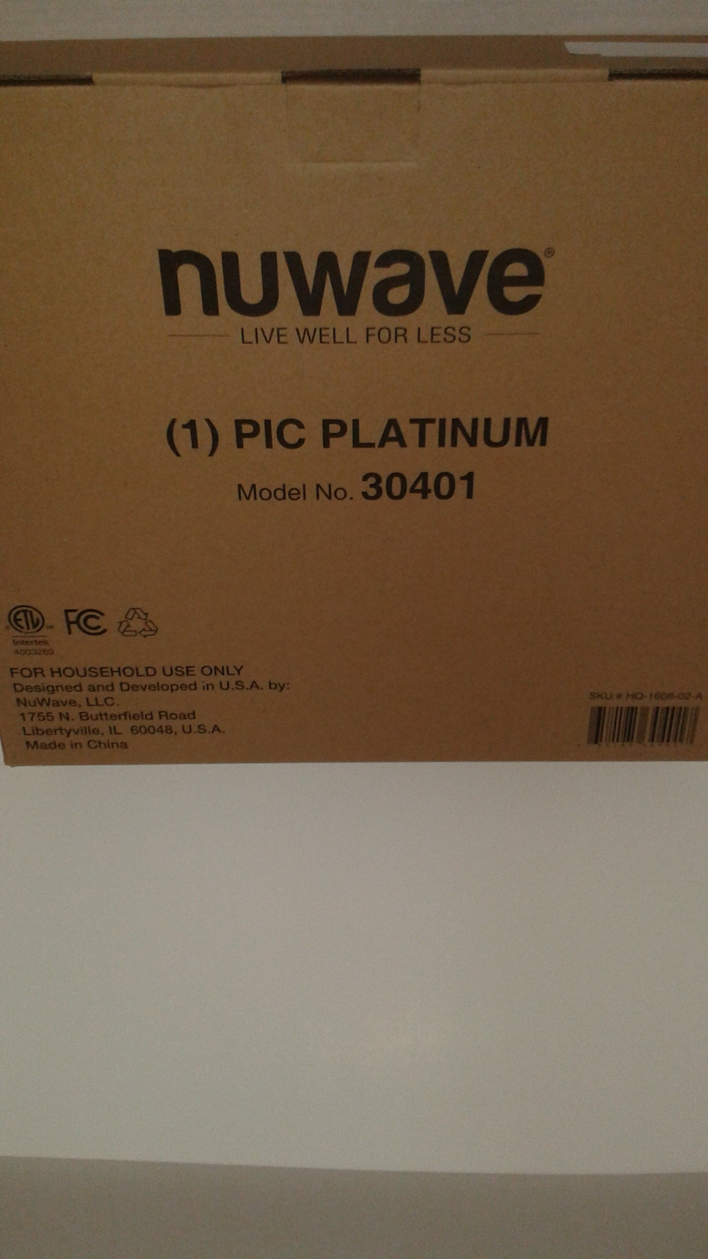 NuWave Platinum 30401 Precision Induction Cooktop, Black with Remote and Advanced Features for 2017 by NuWave (Image #4)