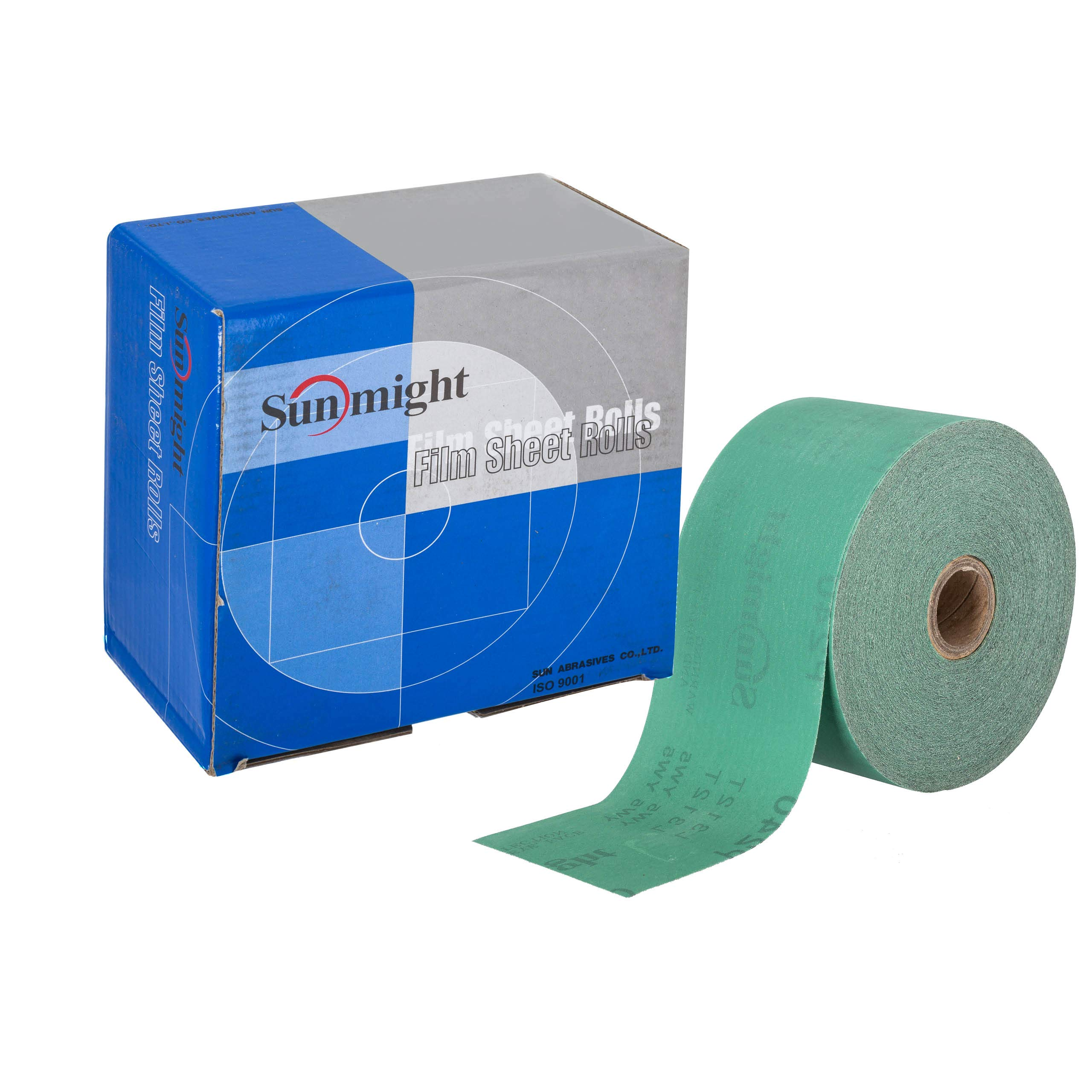 Sunmight 22114 1 Pack 2-3/4'' X 45 yd PSA Sheet Roll (Film Grit 320)