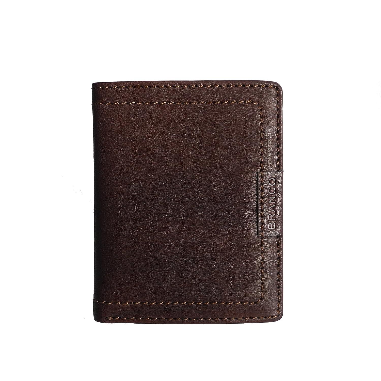 Branco Menクレジットカードホルダー、BROWN(ブラウン) - 0   B018AZAKD8