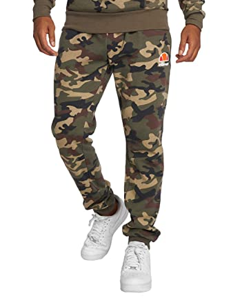 nauhoittaa sisään kohtuullinen hinta lenkkitossut ellesse Men Pants/Sweat Pant Ovest Camouflage 2XL: Amazon.co ...
