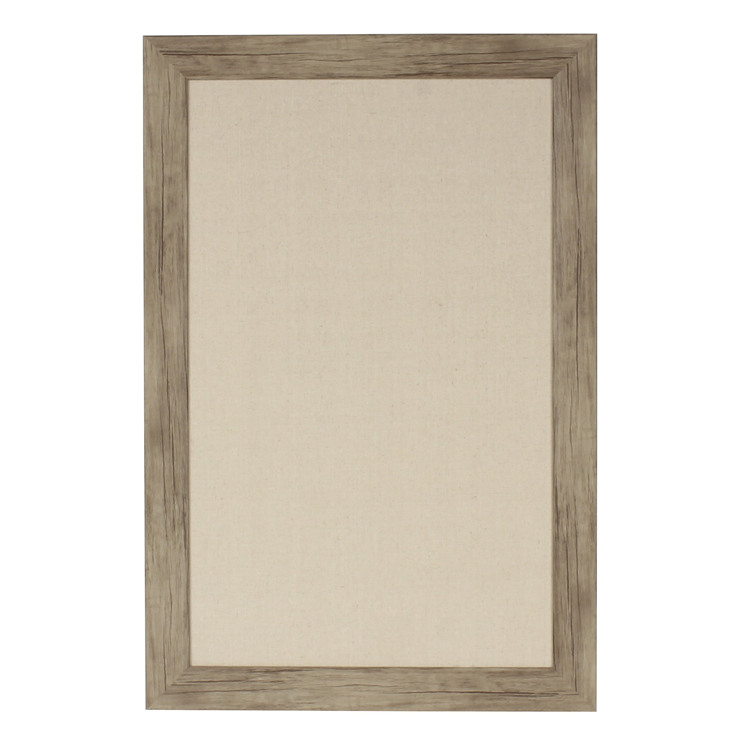 DesignOvation Beatrice Framed Pinboard, 18X27, Rustic Brown by DesignOvation