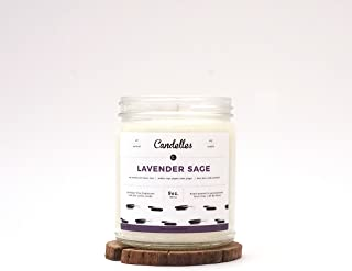 product image for Lavender Sage 9oz. Soy Wax Candle