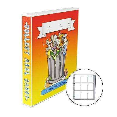 UniKeep Garbage Pail Kids GPK Themed Collectible Card Storage Binder, 450 Card Capacity (Garbage Can): Arts, Crafts & Sewing