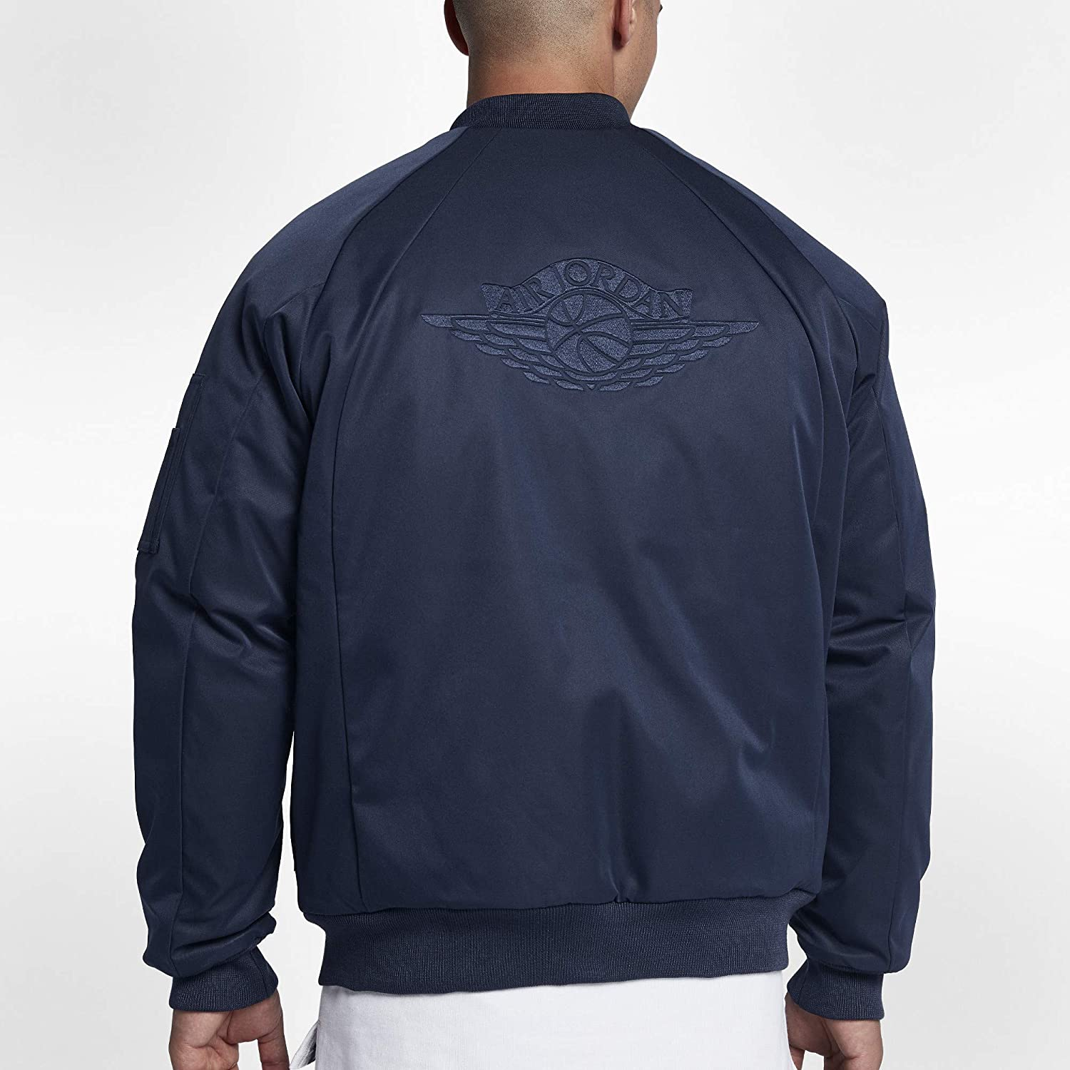 ad655b6cd Nike Jordan Sportswear Wings MA-1 Men's Jacket at Amazon Men's ...