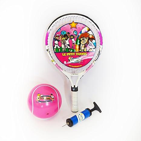 Le Petit Tennis - Raqueta Rosa 43 cm (17 Inches) + Pelota ...