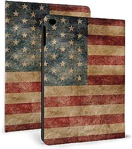 Tablet Case Vintage American Flag Adjustable Protective Leather Case ,for Mini 4/5 7.9