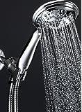 ShowerMaxx Shower Head Premium 6 Spray Settings | Luxury Spa Detachable Handheld Showerhead