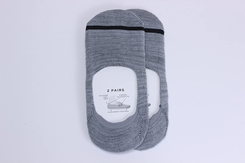 Tretorn 2-Pack Athletic Liner Socks fits womens shoe sizes 4-10 9-11 grey